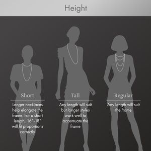 Select a Necklace Based on Height Guidelines